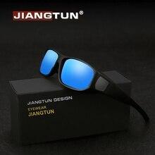 2a0aa88e6d JIANGTUN TR90 ajuste gafas de sol hombres/mujeres polarizado UV400 lente prescripción  gafas de sol usar sobre miopía gafas JT872.