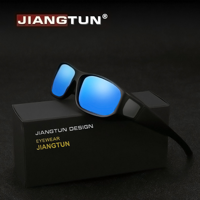 JIANGTUN TR90 Fit Over Sunglasses Men Women Polarized UV400 Lens Covers  Prescription Sun Glasses Wear Over Myopia Eyewear JT8721 03c6e4a95d