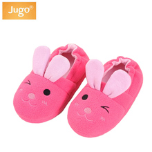 Kids Slippers Girls Cute Rabbit Animal Pattern Home Slippers Children For Girls House Indoor Shoes Baby Bedroom Flat Slippers