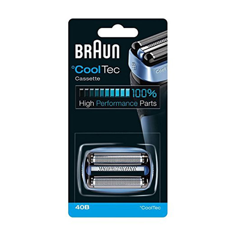 Braun 40B Blade Foil And Cutter For CoolTec Shaver Series Replacement Razor Head CT2s CT2cc CT3cc CT4s CT4cc CT5cc CT6cc