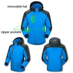Image 3 - LoClimb Mens Spring/Autumn Outdoor/Hiking Jacket Men Mountain Trekking Windbreaker 5XL Fishing Coat Waterproof Jackets AM163
