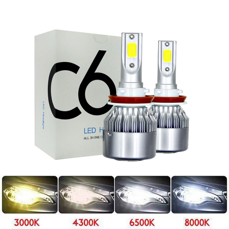 <font><b>LED</b></font> 4300K 6500K Motorcycle <font><b>Headlight</b></font> Lights <font><b>LED</b></font> H4 <font><b>HS1</b></font> <font><b>LED</b></font> H7 H11 H1 <font><b>LED</b></font> 3000K 8000K <font><b>LED</b></font> Moto Motorbike Scooter Headlamp Bulbs image