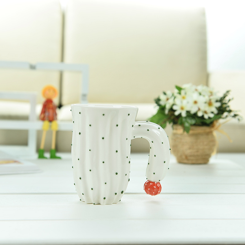 401ml Factory direct sales ceramic mug promotional gift mugs home daily necessities mug