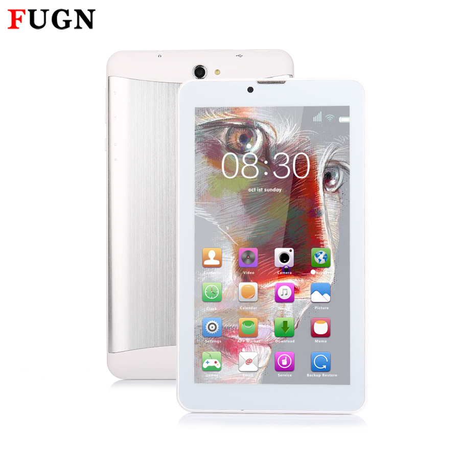 FUGN 7 inch Kids Tablet Android PC 5.1 Quad Core 1GB RAM Dual Cameras GPS Wifi 3G Phone Call Tablets with Keyboard 8 9.7 10''