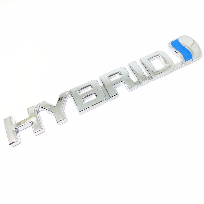 Купить 3D металлический сплав цинка гибридный автомобиль Стикеры