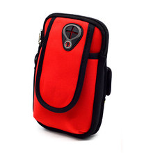 Outdoors Running Bag for iPhone X 5 5S SE 6 6s 7 8 Plus Arm Wrist Hand Sport Band Phone Case Accessories Waterproof Wallet Pouch