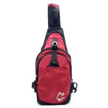 Envío Libre de Múltiples Funciones unisex bolsa de nylon sólido pequeño Bolso de Los Hombres bolsa de viaje mochila bolsillo para el móvil