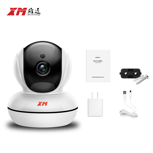 WIFI 1920*1080P 2.0MP IP Camera Pan/Tilt  Night Vision Security Camera ONVIF P2P CCTV Cam with IR-Cut Wireless Surveillance Cam
