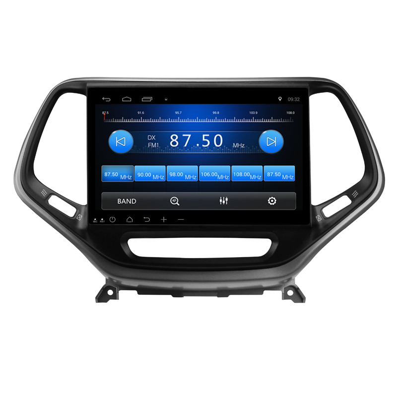 "Flash Deal Tesla Type Vertica screen 10.2"" Android 6.0 ! 1024*600 car multimedia DVD player Radio GPS FOR JEEP Cherokee 2014 2015 -16 2019 1"