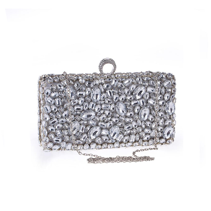 8b38ef698df ... Crystal Evening Clutches Bag Wedding Dress Bridal Diamond Chains  Shoulder Handbags Purses NEW. QQ20171007225015. QQ20171007225100  QQ20171007225025 ...