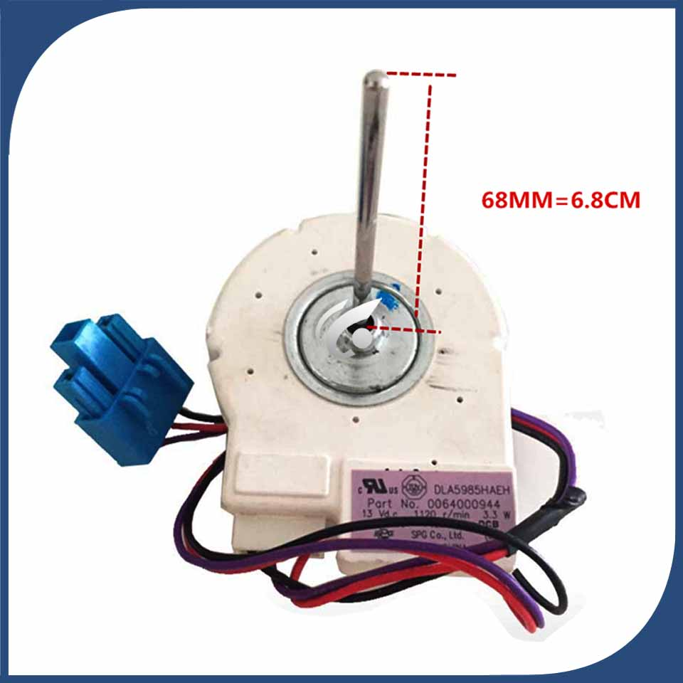 new Good working for refrigerator ventilation fan motor 0064000944 DLA5985HAEH BCD-579WE reverse rotary motor new good working for refrigerator ventilation fan motor dla5985hacc 0064000945 bcd 628wabv reverse rotary motor