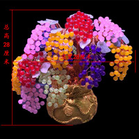AAA+++ Lucky Tree!!! Natural Pretty Multi color Chalcedony Crystal Gem Tree