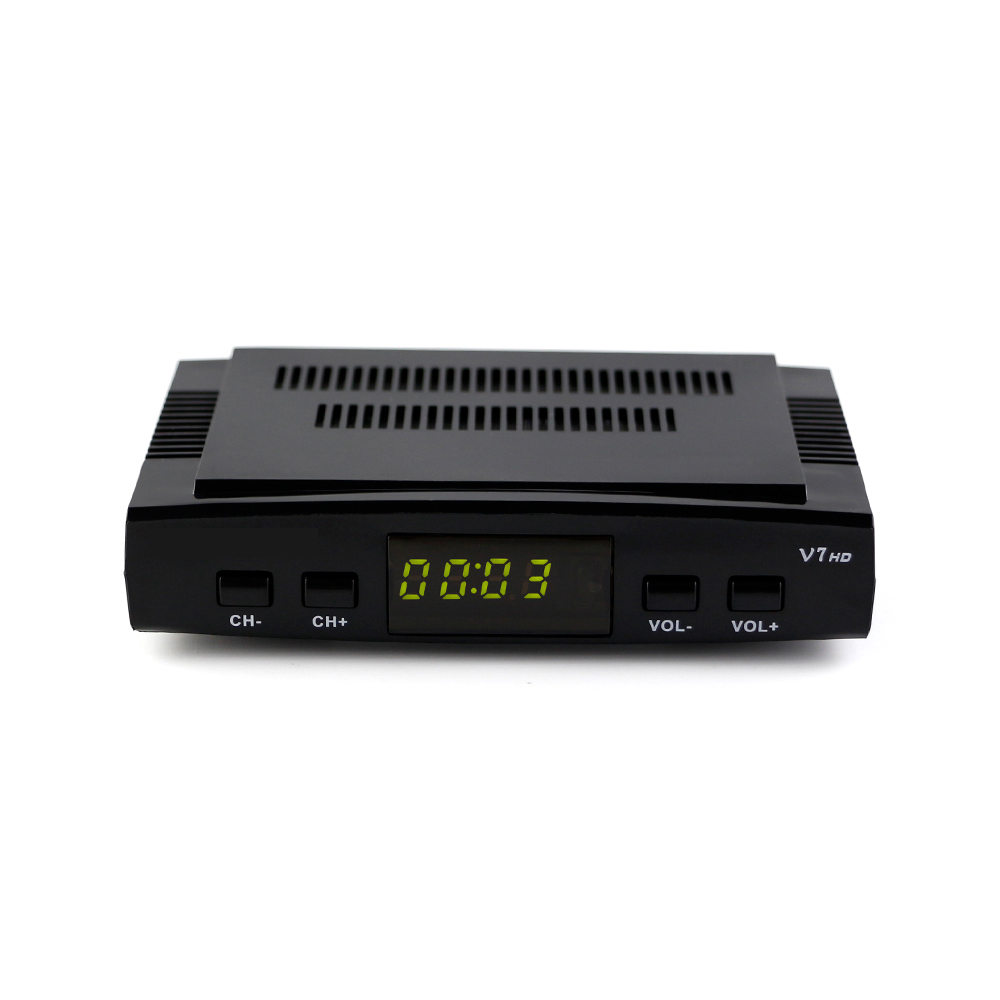 20pcs V7 Youtube free video DVB-S2 1080p full hd satellite receiver V7 set top box with WIFI V7 Satellite Receiver Free Shipping dhl free ipm psi infosat 3in1 dvb s2 hd satellite receiver for thailand malay burma laos kampuchea