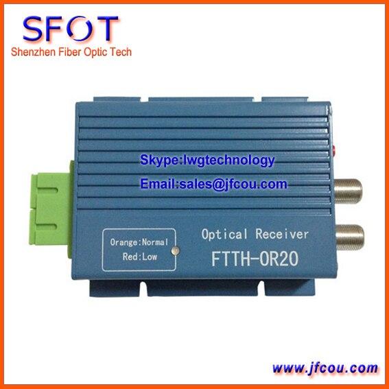 Мини Оптический Приемник/FTTH оптический приемник/CATV оптический узел, SFOT-WS-OR20A, мини-узел