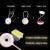 Alimentado Por Bateria sem fio LEVOU Toque Lâmpada de Mesa-Sensível Pode Ser Escurecido Dobrável Lanterna Recarregável Levou Candeeiros De Mesa 2017 Top Venda