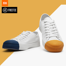 Xiaomi Mijia Original Freetie Match head canvas shoes New Small white 3 colors for fashion Boy Drop shipping