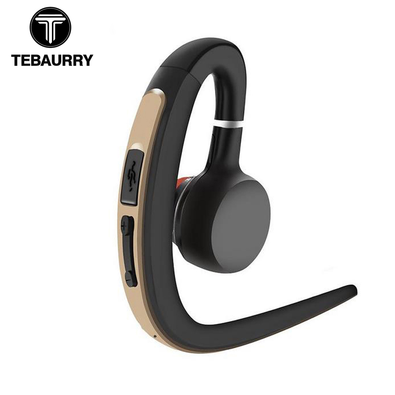 Спортивные Bluetooth наушники TEBAURRY, Беспроводная музыкальная гарнитура с микрофоном, наушники для телефона iphone