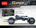 2017 nueva decool 7115 338 unids dc comics super hero el Dark Knight Batman Batpod Modelo Kits de Construcción de Juguete Bloques Compatible regalo