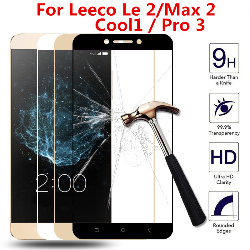 Full cover Tempered <font><b>Glass</b></font> For <font><b>LeEco</b></font> <font><b>Cool</b></font> <font><b>1</b></font> Screen Protector For <font><b>LeEco</b></font> Letv Le Pro3 S3 Pro S 3 Max 2 <font><b>Cool</b></font> <font><b>1</b></font> Max2 Protective Film image