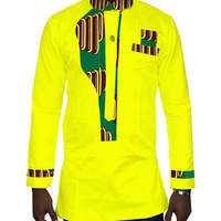 Mens Shirt 2018 New African Mens Clothing Long Sleeve Dashiki for Men Slim Fit Brand Clothing 6XL African Print Shirts WYN323