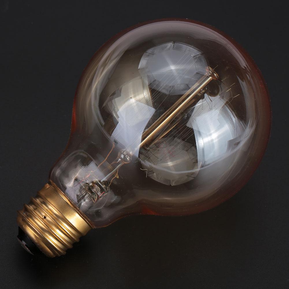 G80 LED Filament Lamp Edison Bulb Light Bulb 40W 110V-130V Household Supply