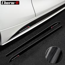 For BMW E90 E92 F20 F21 F30 F31 F32 F33 F34 F15 F16 F10 F01 F11 F02 G30 M Performance Side Skirt Sill Stripe Body Decals Sticker 2x new m performance side skirt stripes sticker for bmw f30 f31 x5 f15 f10 f20 f21 f85 e60 f32 f34 f22 f23 e90 f11 f01 f02 g30