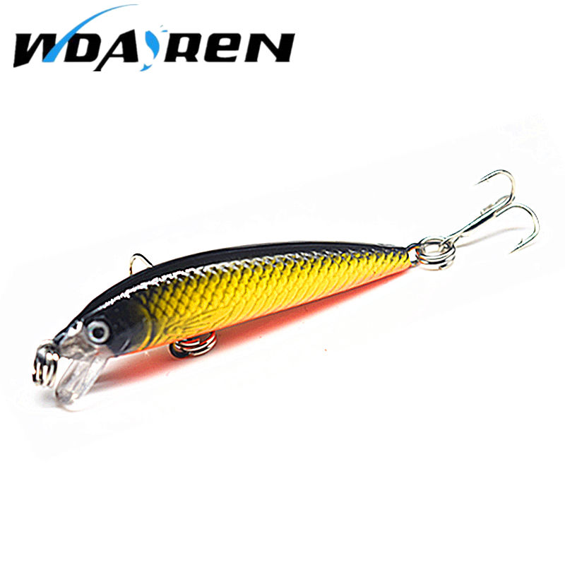 WDAIREN 1Pcs fishing lures 5.5cm 3.6g fishing tackle tool crank bait artificial bait hard lure fish pesca wobbler swim bait wldslure 1pc 54g minnow sea fishing crankbait bass hard bait tuna lures wobbler trolling lure treble hook