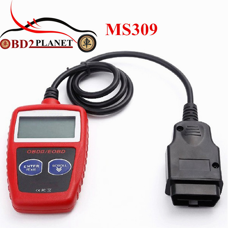 Новое поступление MaxiScan MS309 OBD2 OBDII EOBD сканер автомобиль код читателя тестер данных scan инструмент диагностики MS 309
