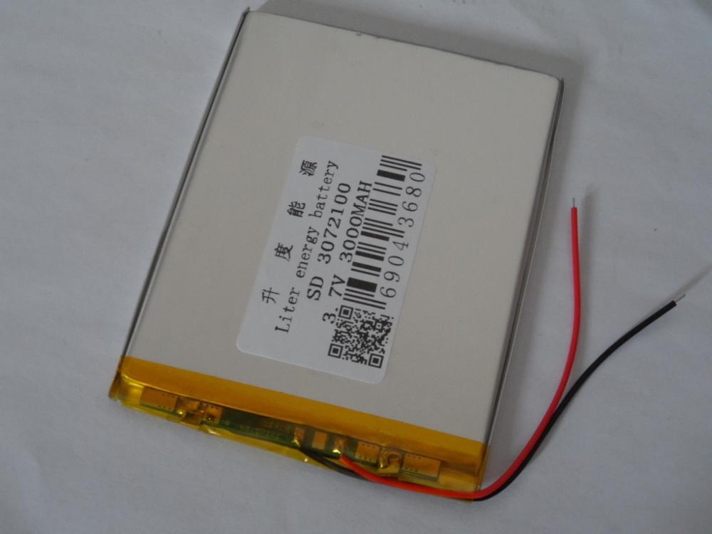 PräZise Polymer Batterie 3072100 3070100 3,7 V 3000 Mah Mid Tablet Batterie Weich Und Rutschhemmend Stromquelle