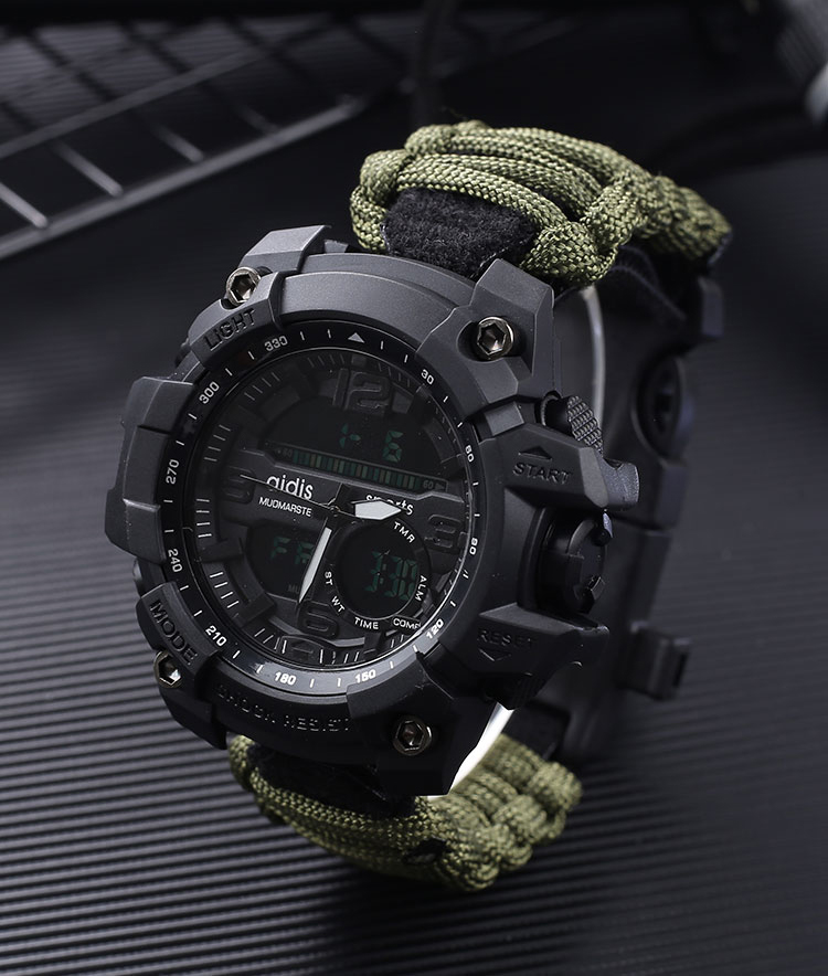 Shock Sport Quartz Digital Military Waterproof Men Wristwatches