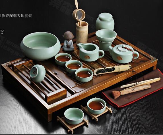 Offre spéciale en céramique violet argile thé ensemble Kung Fu Pot infuseur Xishi Gaiwan théière de service tasse thé chinois boisson de haute qualité