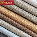 O pano de algodão de linho grosso sofá cortina decoração pano cor do verão grosso almofada macia tecido de linho Retro 150 CM * 50 CM