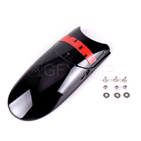 For Harley Sportster XL883 XL1200 Dyna Street Bob FXDB Softail Night Train Motorcycle Front Fender Extender Accessories