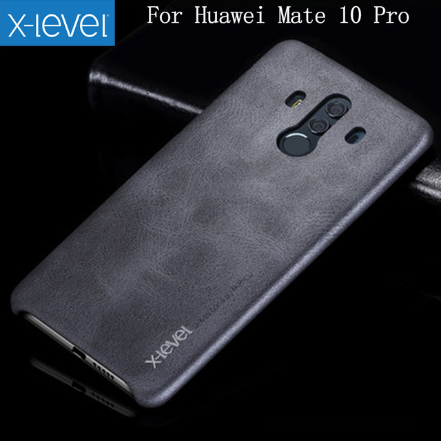 best website 60426 0ef18 US $7.87 15% OFF|X Level For Huawei Mate 10 Pro Case Vintage Cowboy Leather  Case For Huawei Mate 10 Pro Phone Back Cover Case for Mate10 Pro-in ...