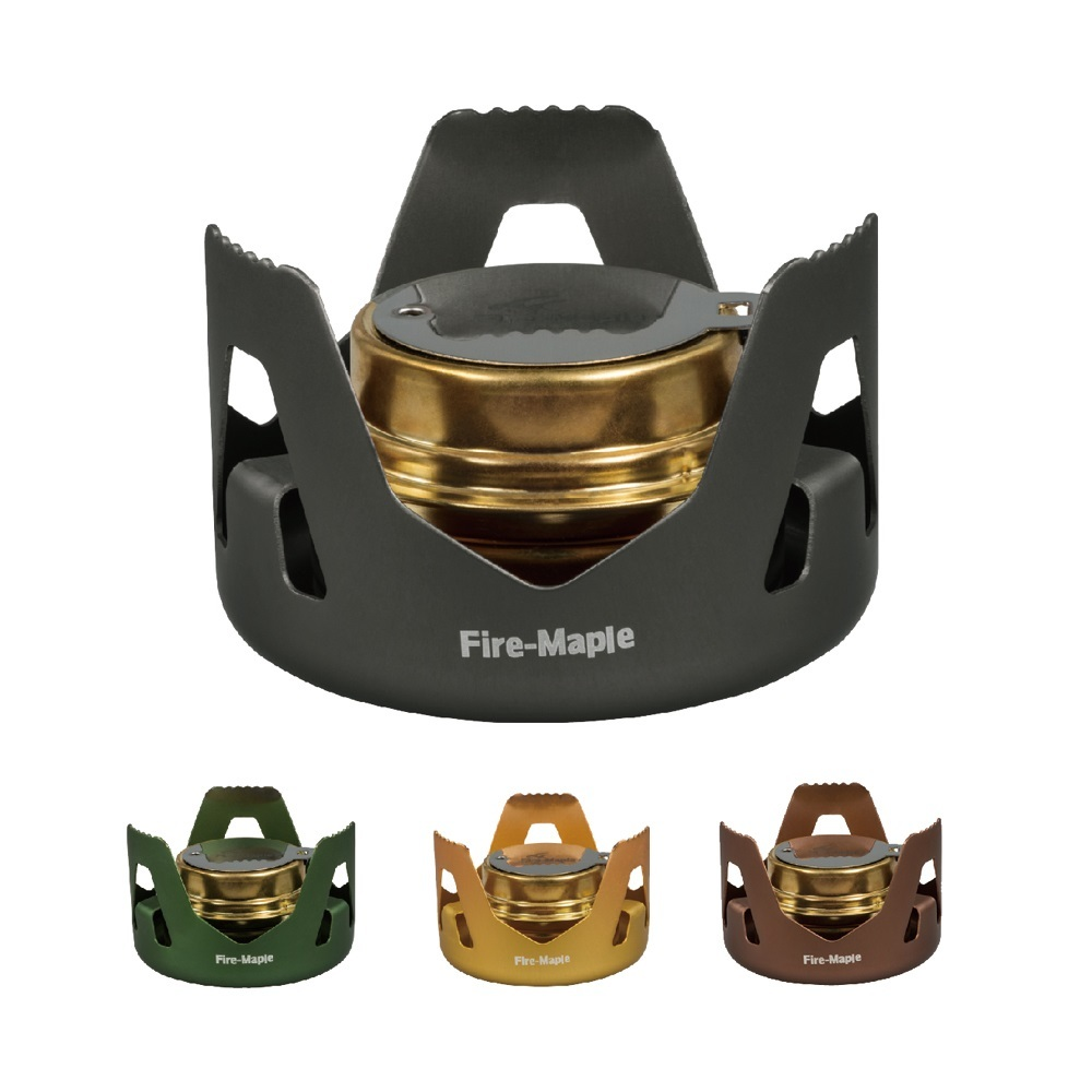 Fire Maple Outdoor Ultralight Liquid Solid Alcohol Stove Portable Camping Equipment Hiking Gas Stove Picnic BBQ Camp Set FMS-122