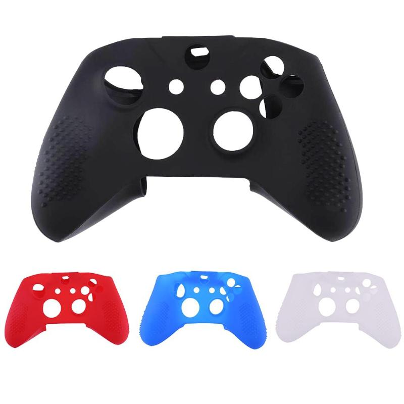 Silicone Protective Anti-slip Sweat Resistant Case Skin Cover for Microsoft Xbox ONE X Controller