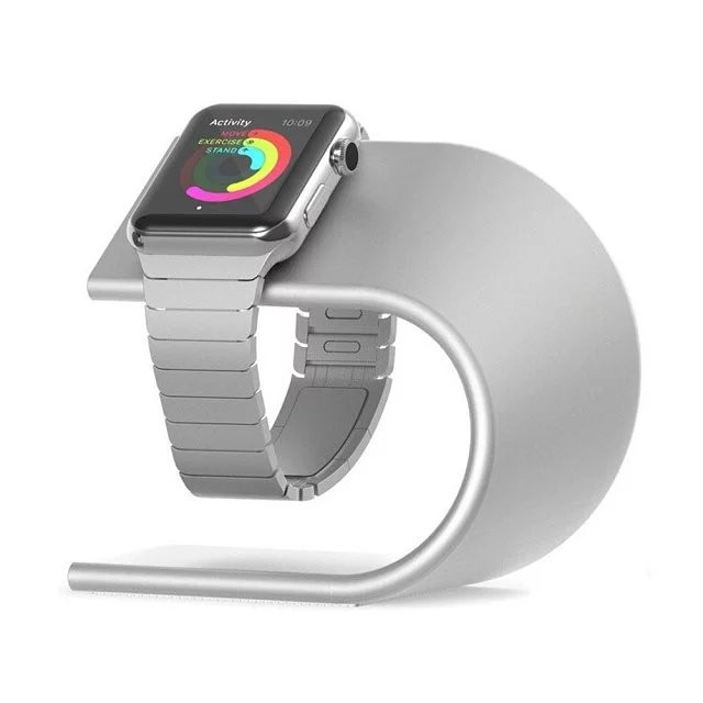 2017 New Luxury High Grade U Type Metal Bracket Display Dock Charging Stand Holder For Apple Watch Free shipping
