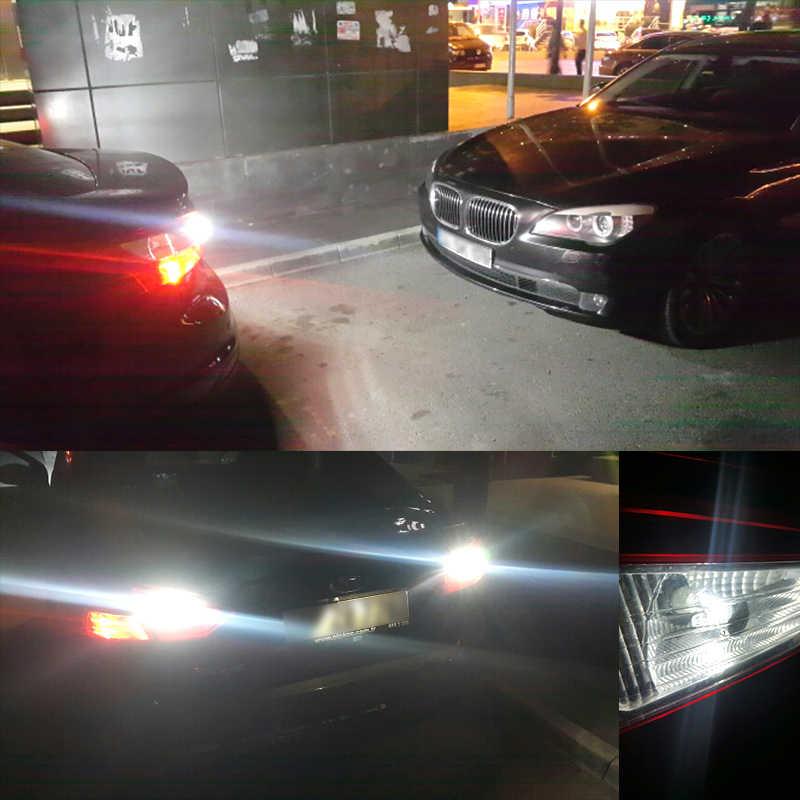 CNSUNNYLIGHT Car LED Reverse Signal Bulb T15 W16W W21W W21/5W Ba15s Bau15s Bay15d 3156 3157 Parking Lamp 5202 H11 Fog DRL Light