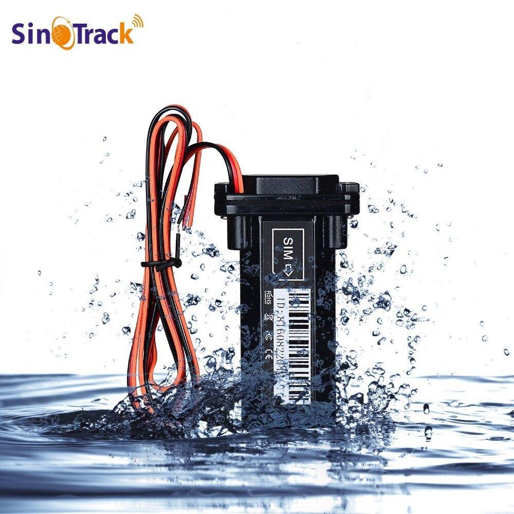 Globaler Gps-verfolger Wasserdicht Eingebaute Batterie GSM Mini für Auto motorrad billig vehicle tracking device online software und APP