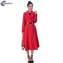 TNLNZHYN winter New Women clothing High end warm Woolen cloth coat Fashion Loose Large Size long female Woolen Outerwear QQ450