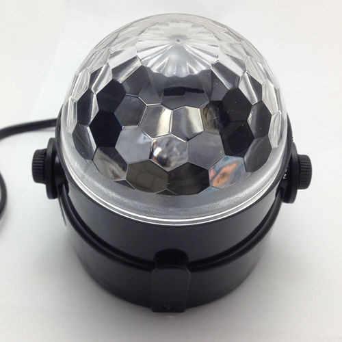 110 V 220 V Mini RGB LED Kristall Magic Ball Bühneneffektbeleuchtung Lampe Disco Club DJ Licht Laser Zeigen Lumiere Strahl SL01