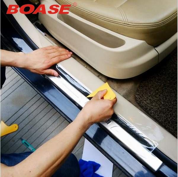 Nouveau style 20cmX/3/4/5/6/8M Rhino peau voiture autocollant pare-choc capot peinture Protection Film vinyle Transparent décalcomanies accessoires