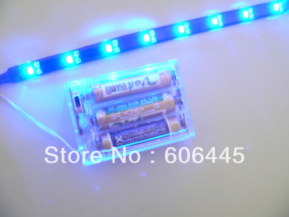 03m 45v smd aaa battery powered led strip light 30cmin led strips from lights u0026 lighting on alibaba group