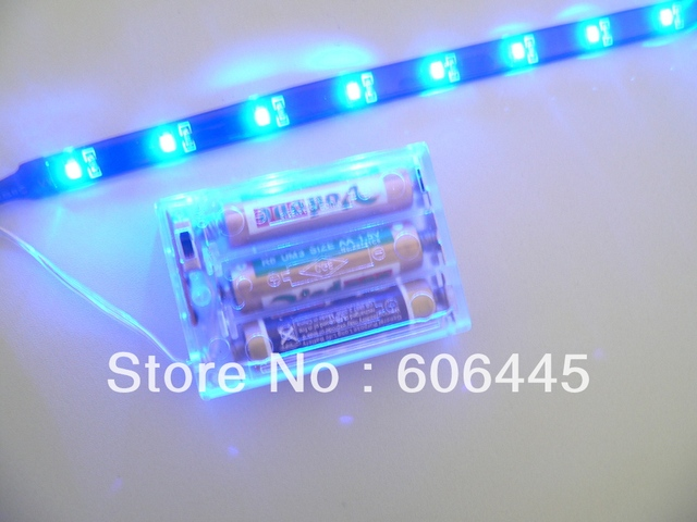 03m 45v 3528 Smd Aaa Battery Powered Led Strip Light 30cm In Led