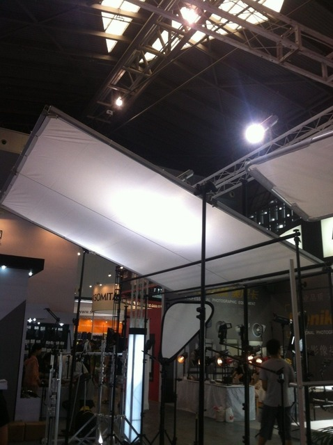 24x24 M 8x8 8x8 Vlinder Kit Opvouwbaar Frame Diffusie Zijde