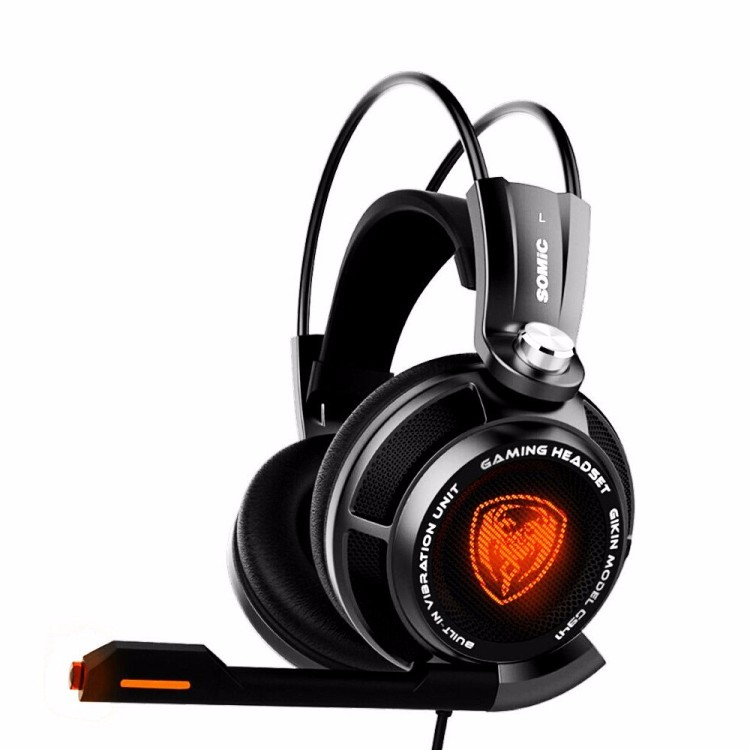 Gaming Headphones Somic G941 USB Game Headset  With Microphone 7.1 Surround Sound Effect Vibrating Function For PC Gamer (6)
