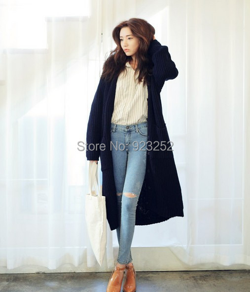 The new 2014 pregnant women outdoor wear loose big yards long ...
