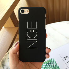 2017 new phone case nice smartphone cover cute simple hard scrub mobile phone cases for Iphone 6 plus 6s plus phone protector