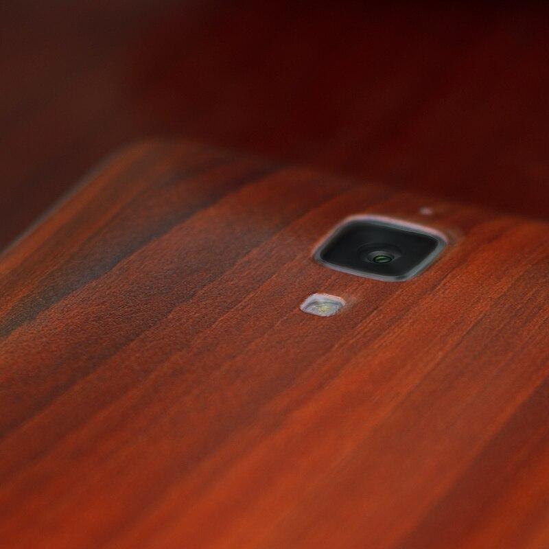 Xiaomi mi4 batareya qapağı m4 Bambuk üslublu batareya - Cib telefonu aksesuarları və hissələri - Fotoqrafiya 3