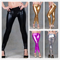 RA7379 New stylish women sexy hot black women pants with fitness leggings for women hot sale drop shipping wet look leggings